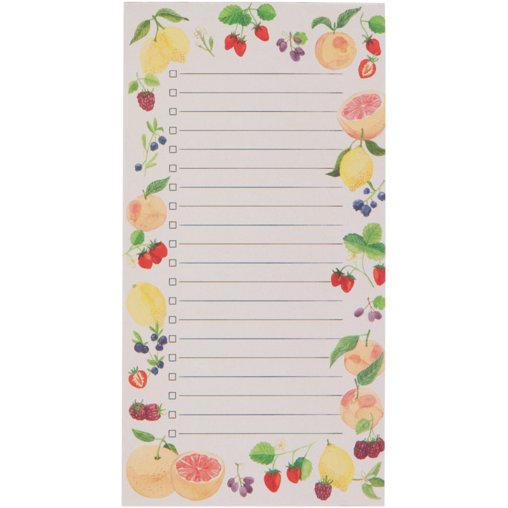 Fruit Salad Magnetic Notepad