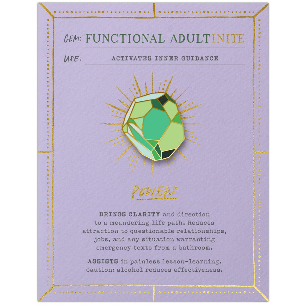 Functional Adultinite Fantasy Stone Card