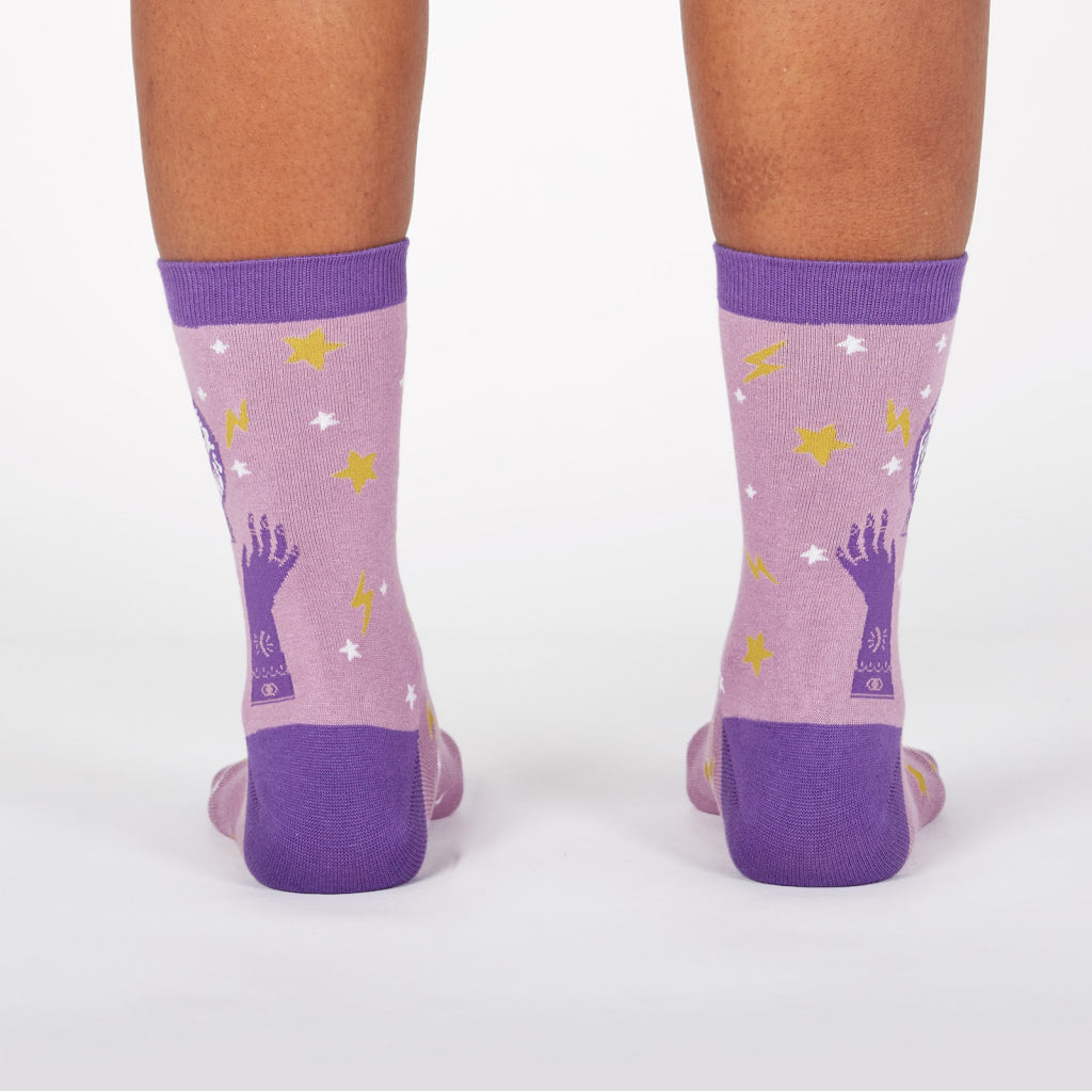 Future In Our Hands Women's Crew Socks Back