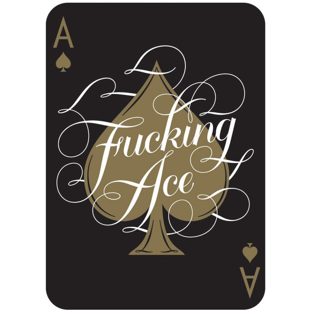 Ace of Game On, Bitches Playing Cards.