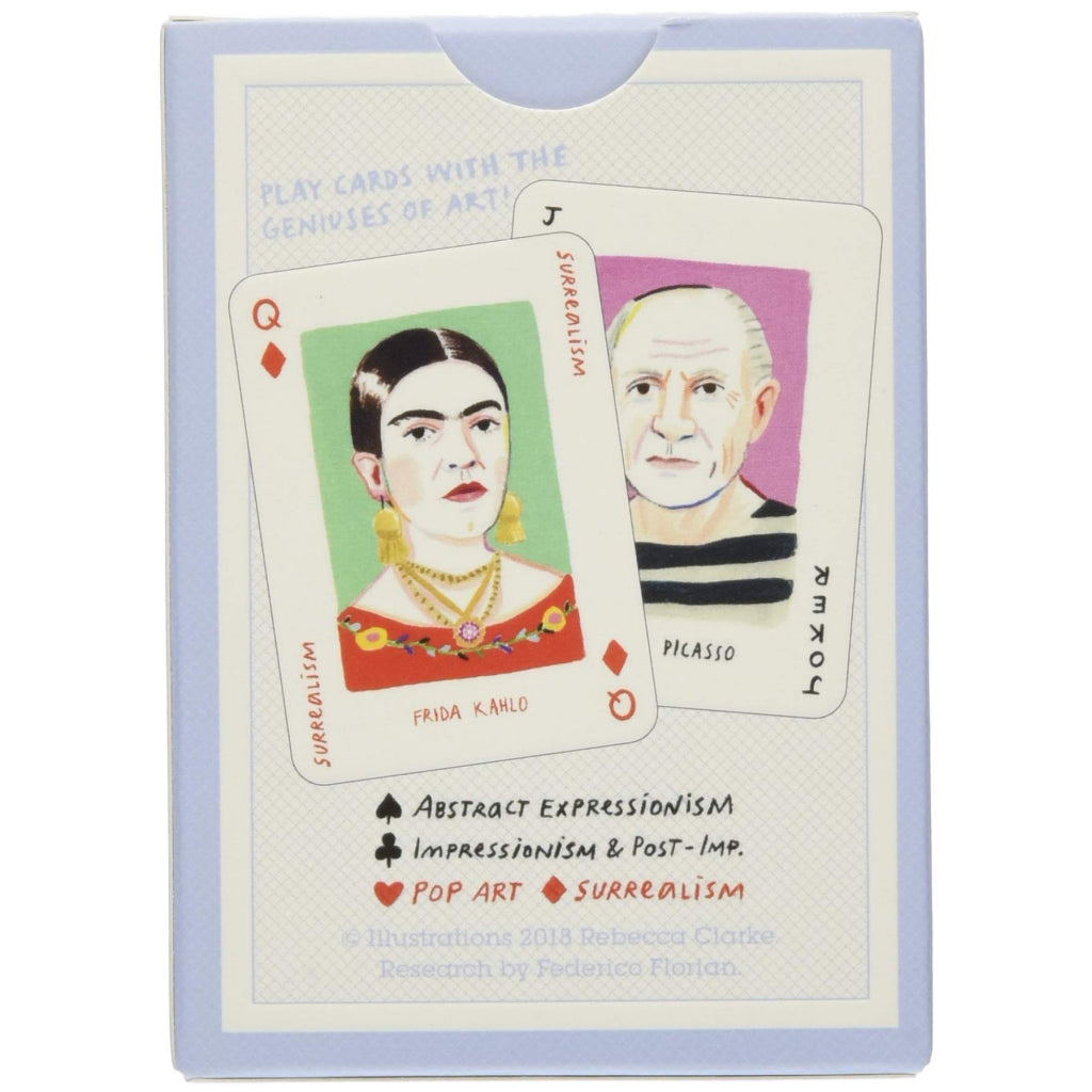 Sample of Genius Art Playing Cards.