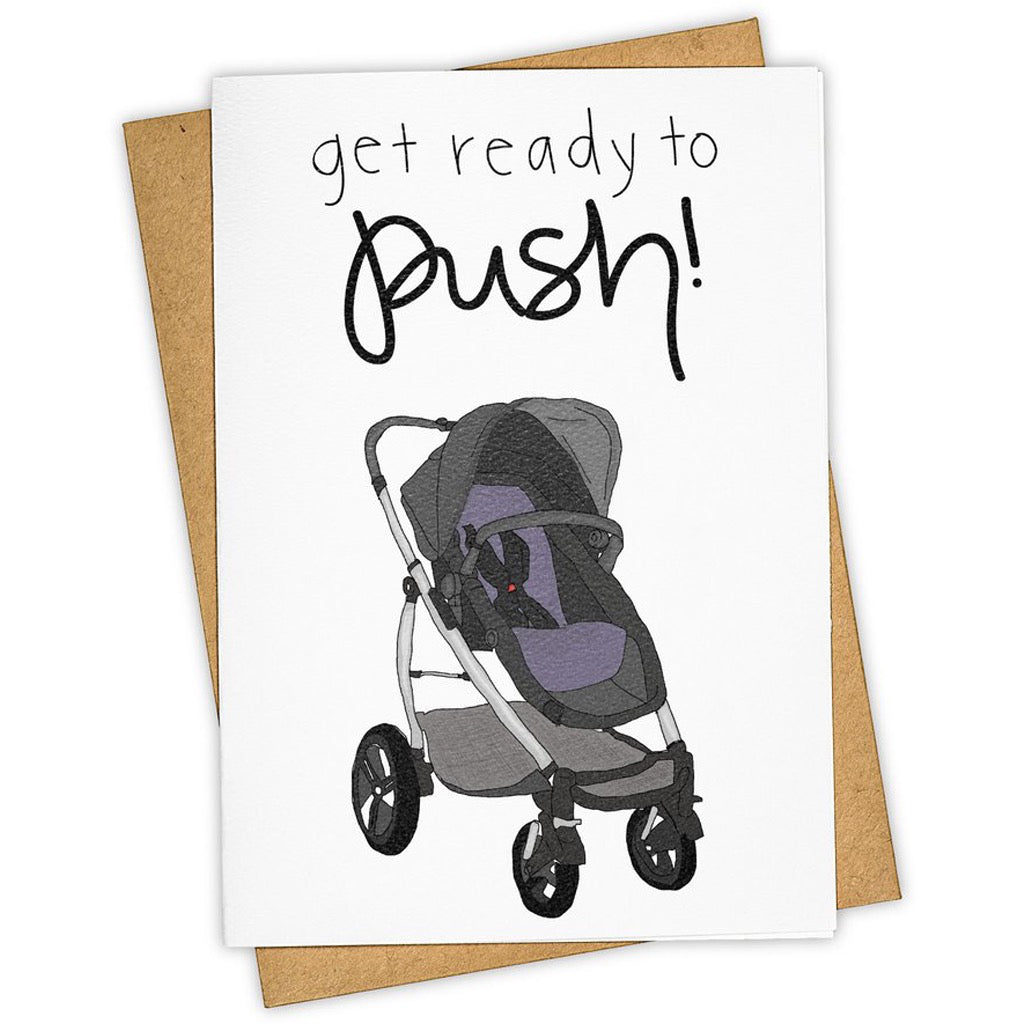 Ready To Push Stroller Card
