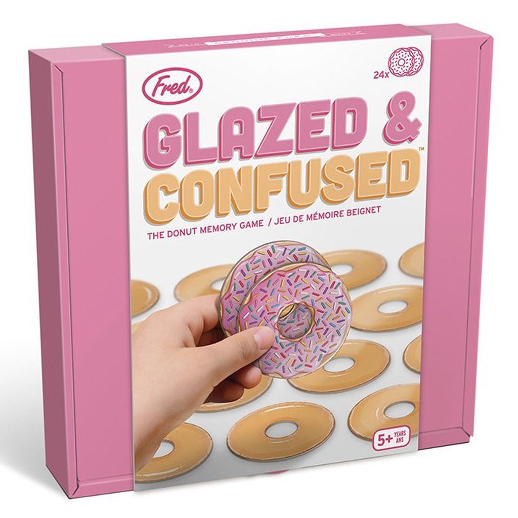 Glazed & Confused Memory Game Packaged