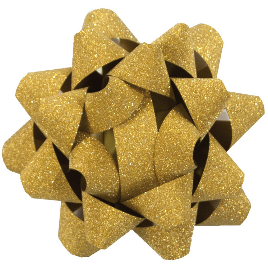 Glitter Star Bow Gold