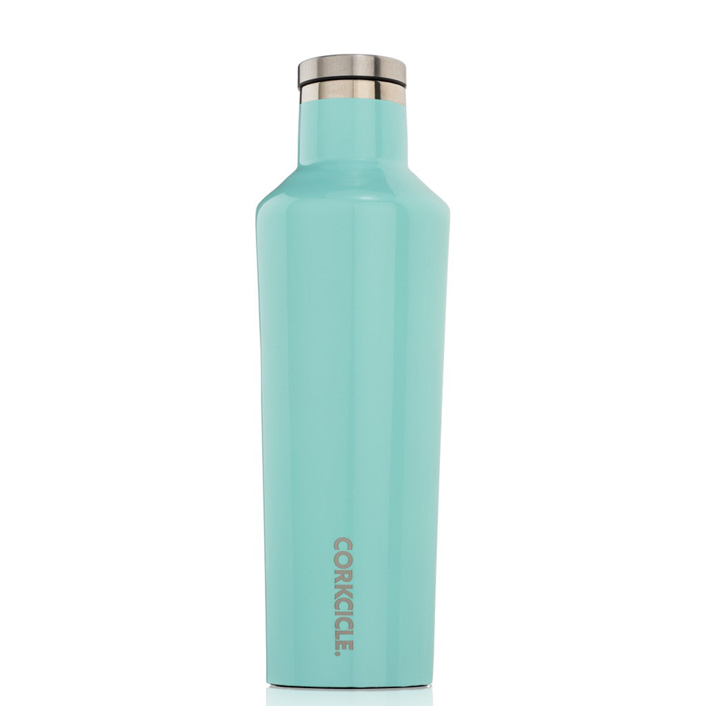 Gloss Turquoise Canteen 16oz