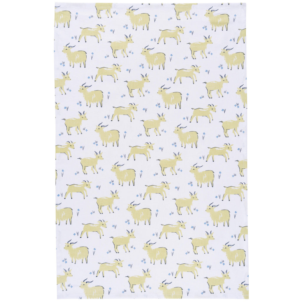Goats Tea Towel