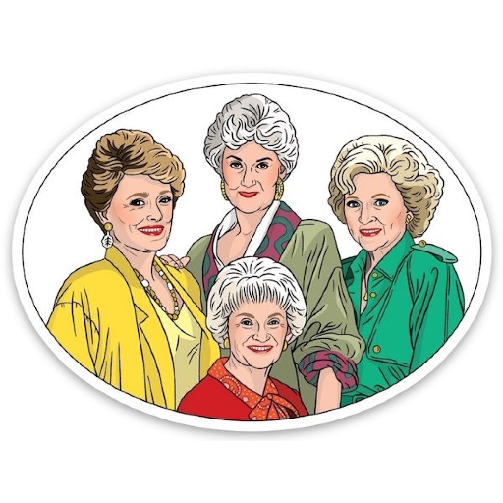 Golden Girls Cast Sticker