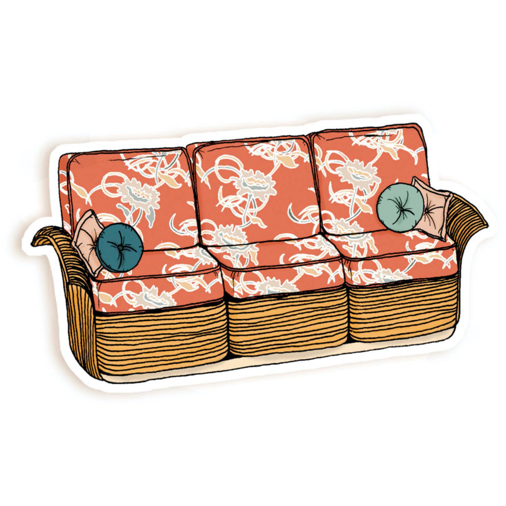 Golden Girls Couch Sticker