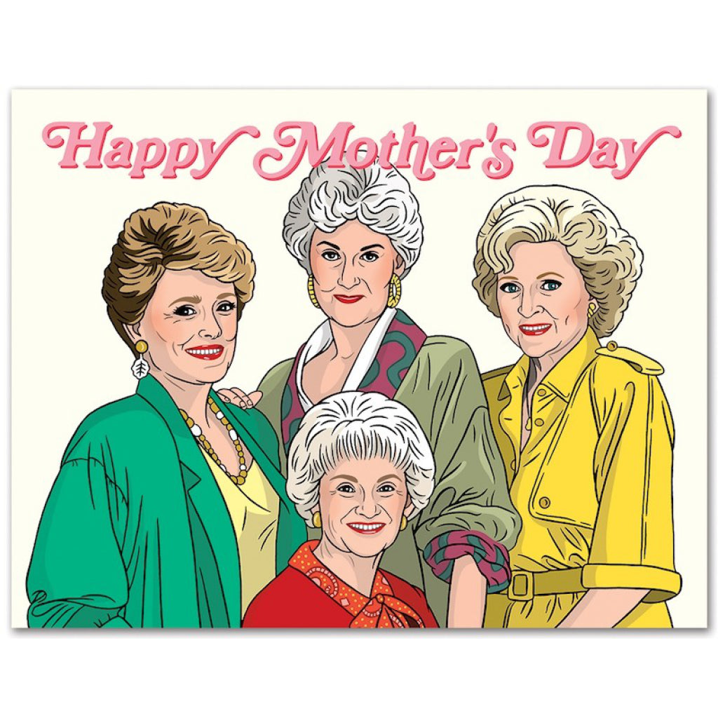 Golden Girls Mother's Day Card