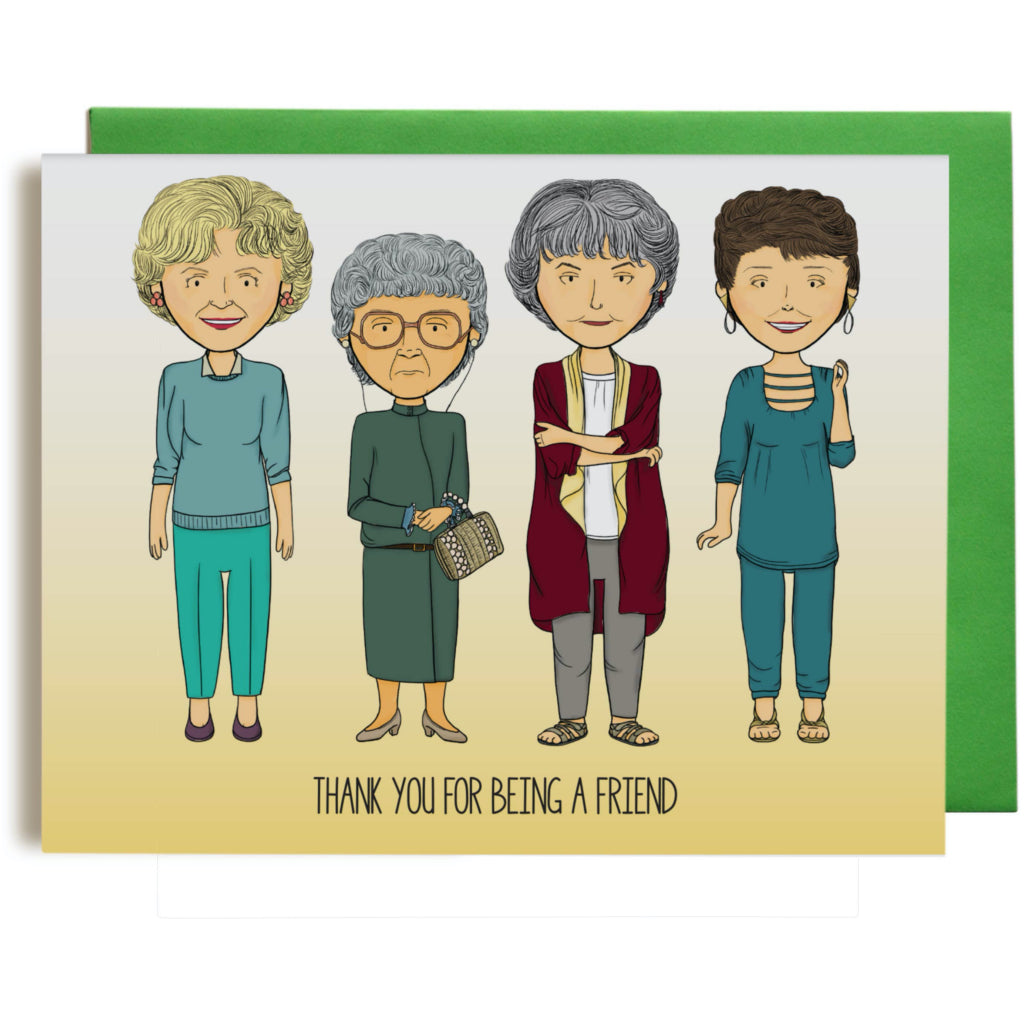 Golden Girls Thank You Card