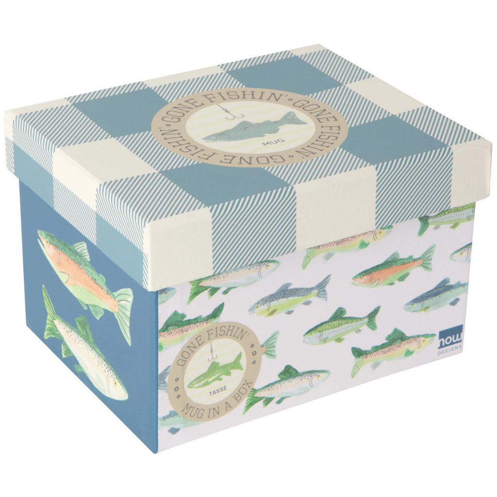 Gone Fishin Mug Box