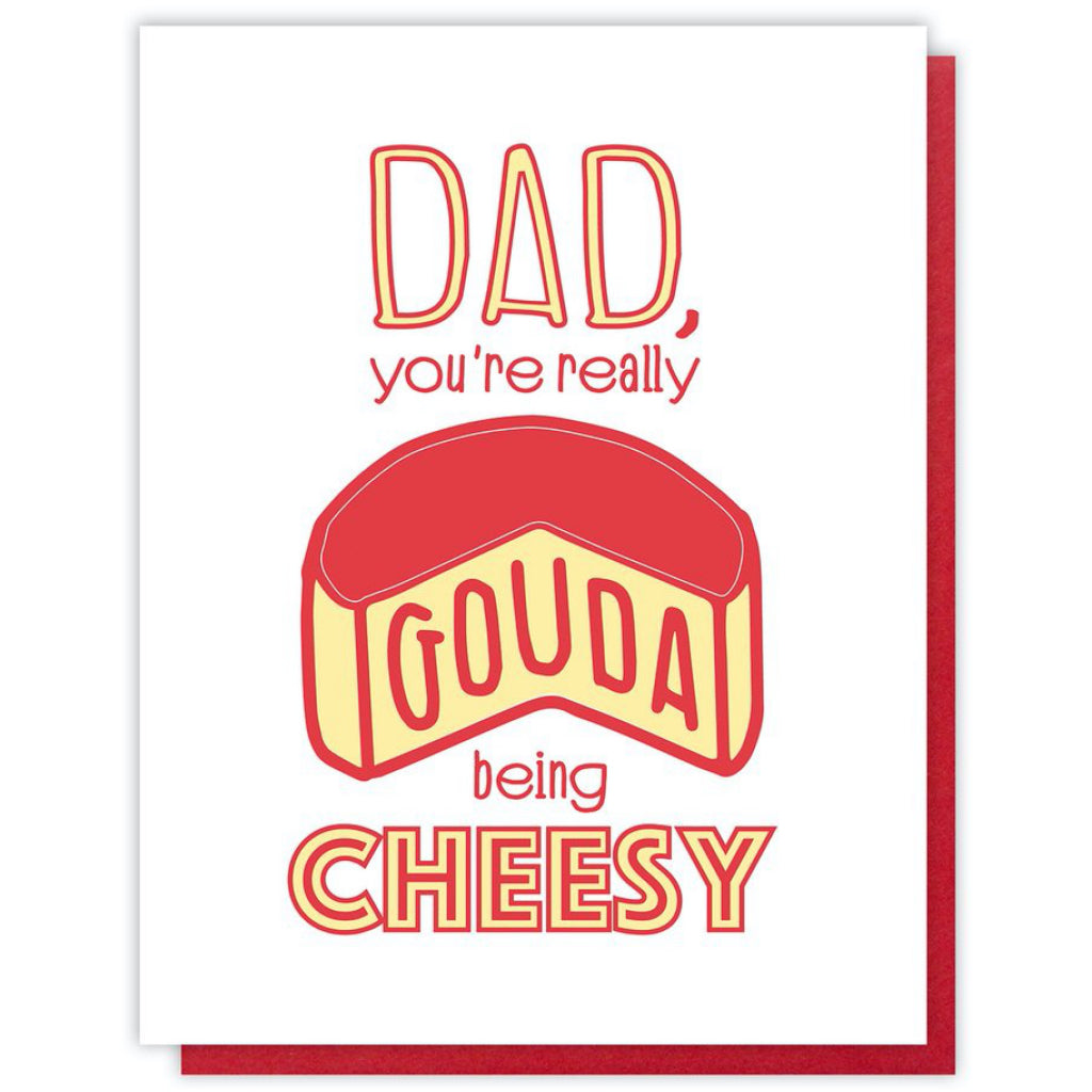 Gouda Dad Card