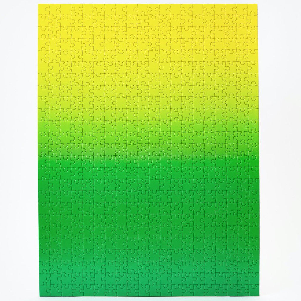 Gradient Puzzle – Green/Yellow