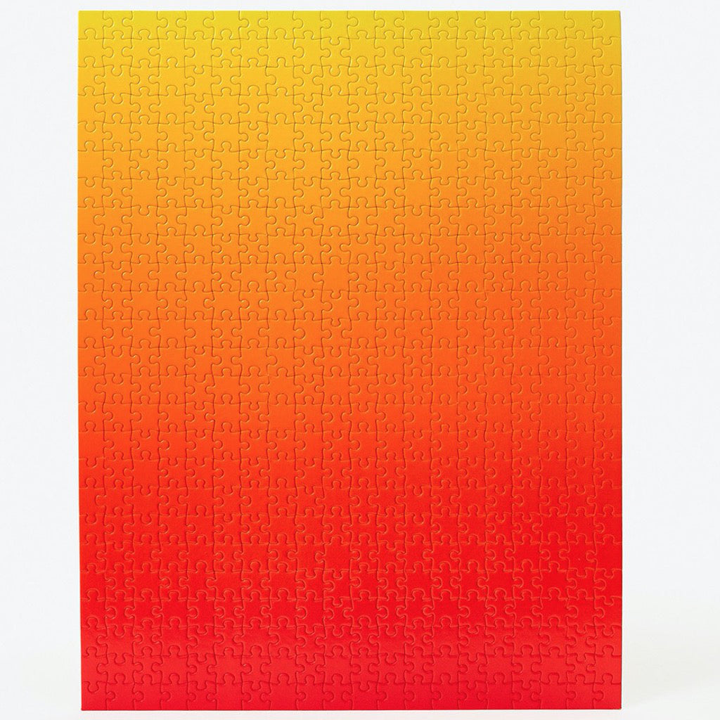 Gradient Puzzle – Red/Yellow