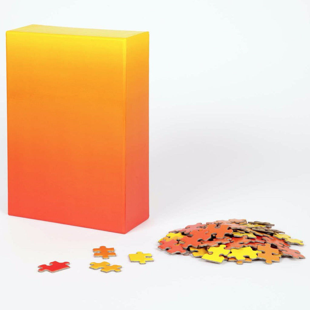 Gradient Puzzle – Red/Yellow Box