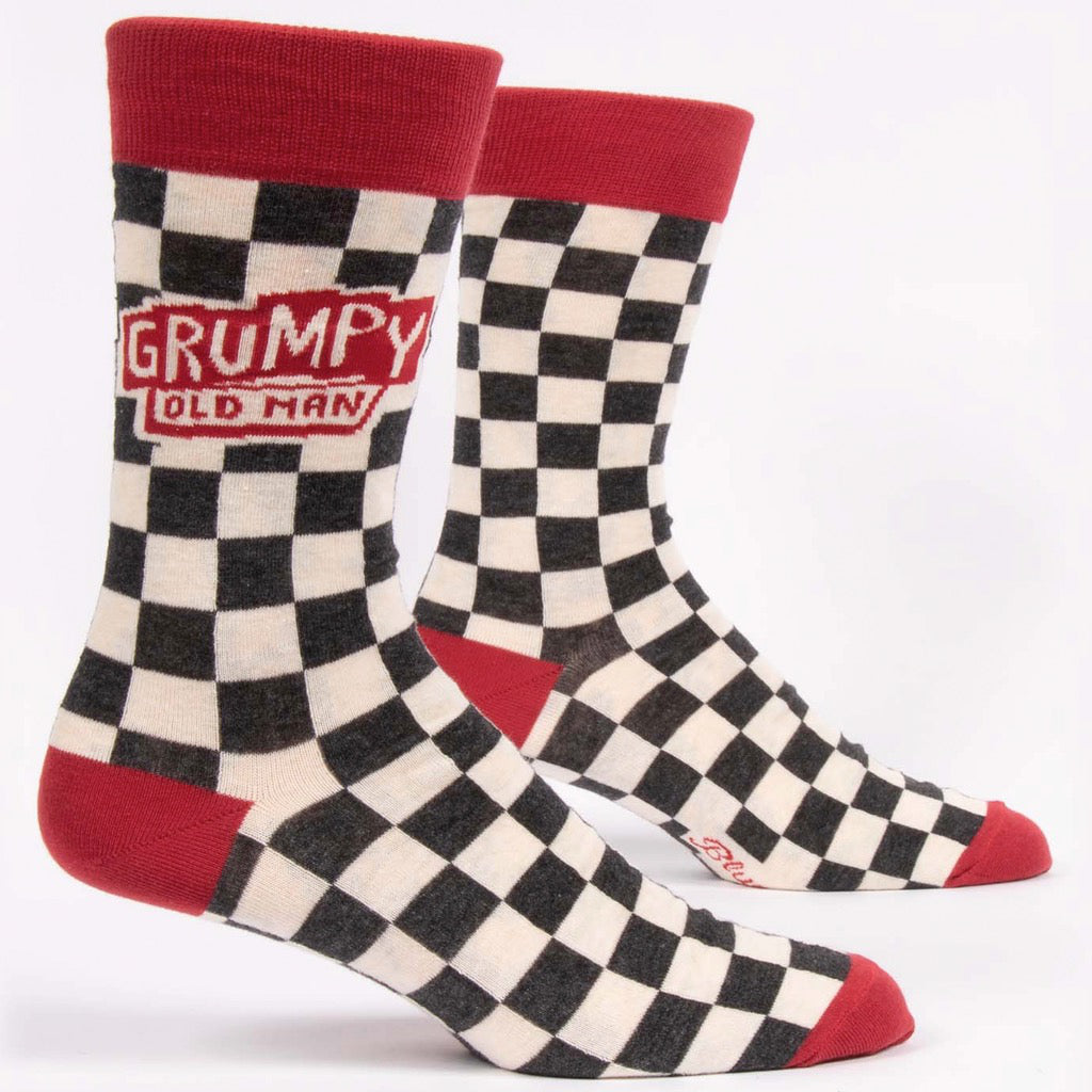 Grumpy Old Man Men's Socks.