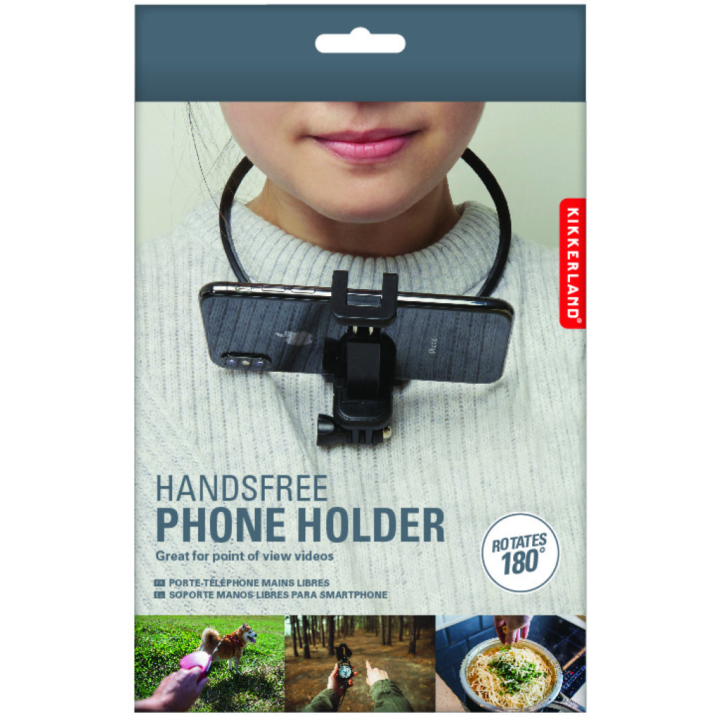 Hands Free Phone Holder Packaging
