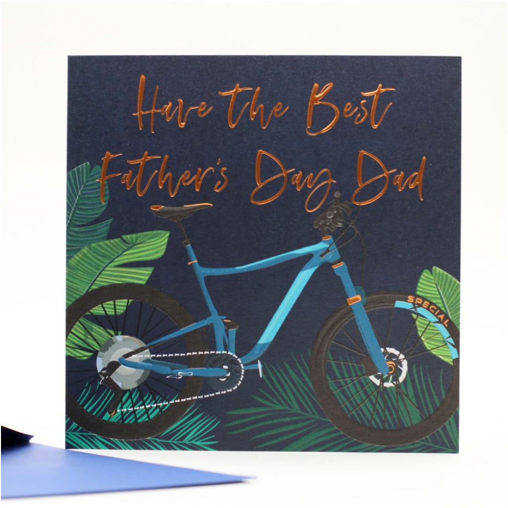 Happy Father's Day Bike Card