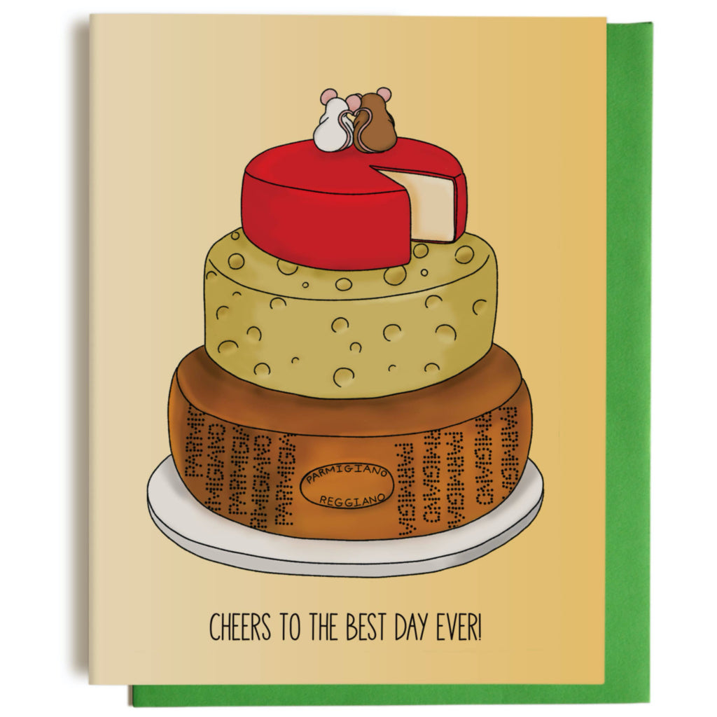 Happy Mice Wedding Card