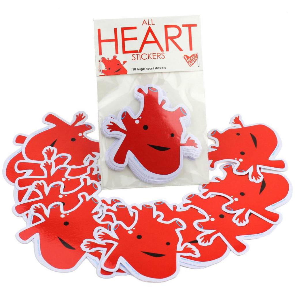 Heart Stickers Pack of 15