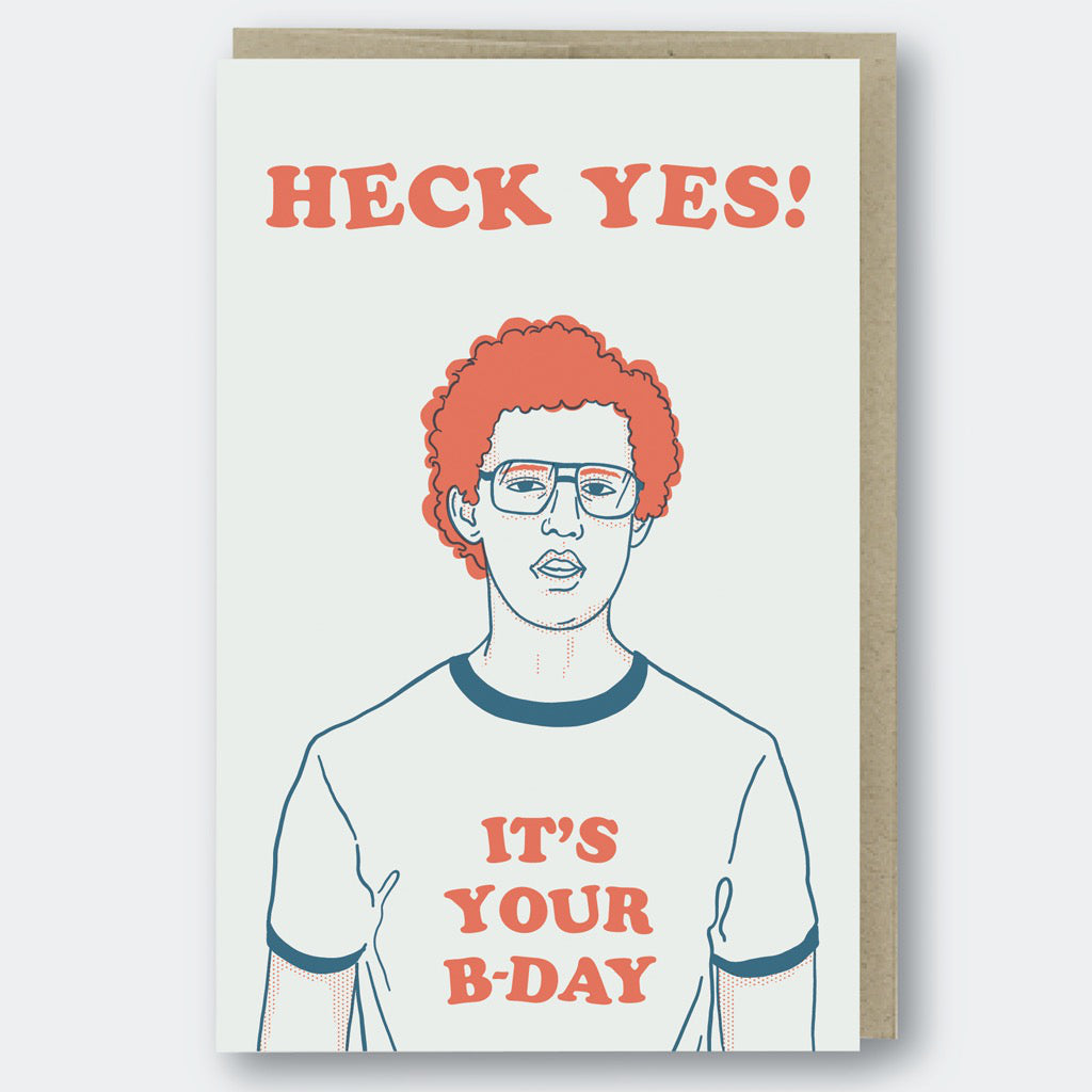 Heck Yes Napoleon Dynamite Card