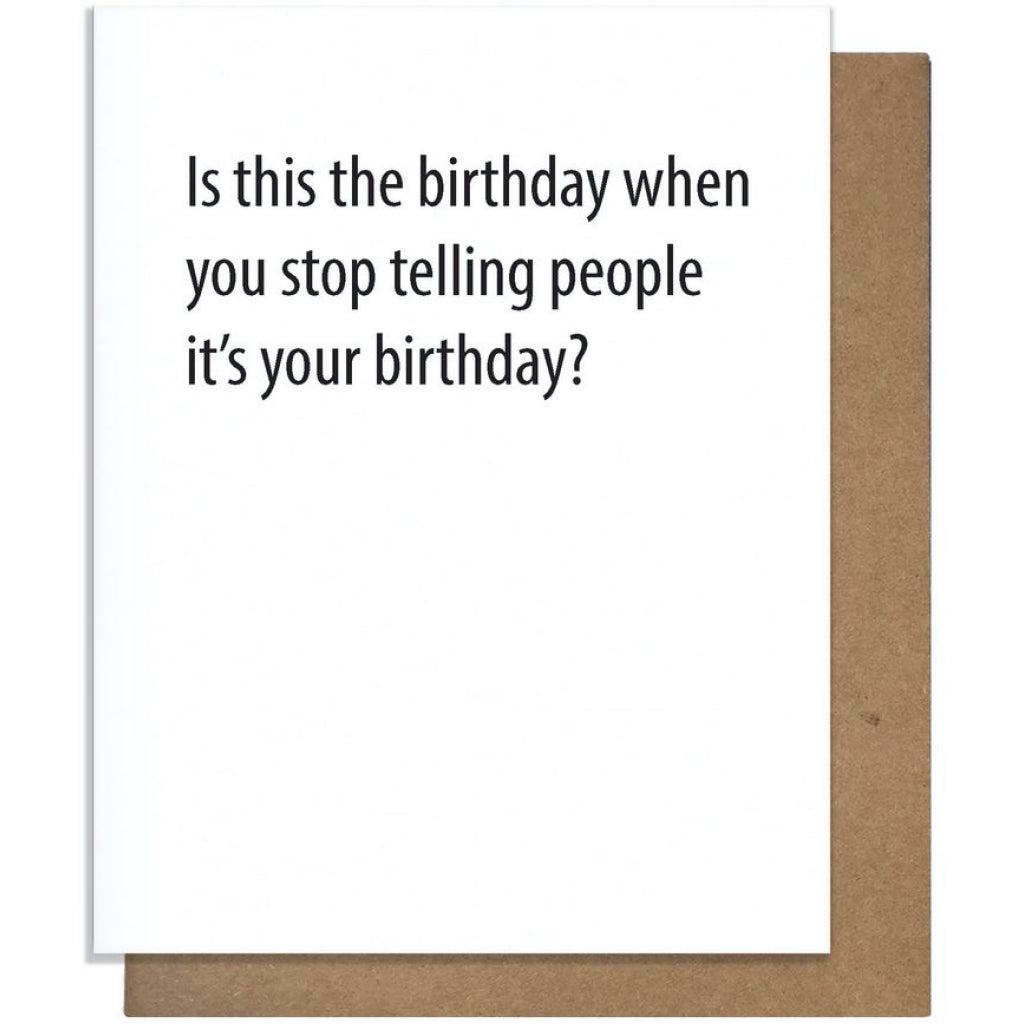 Hide Birthday Card