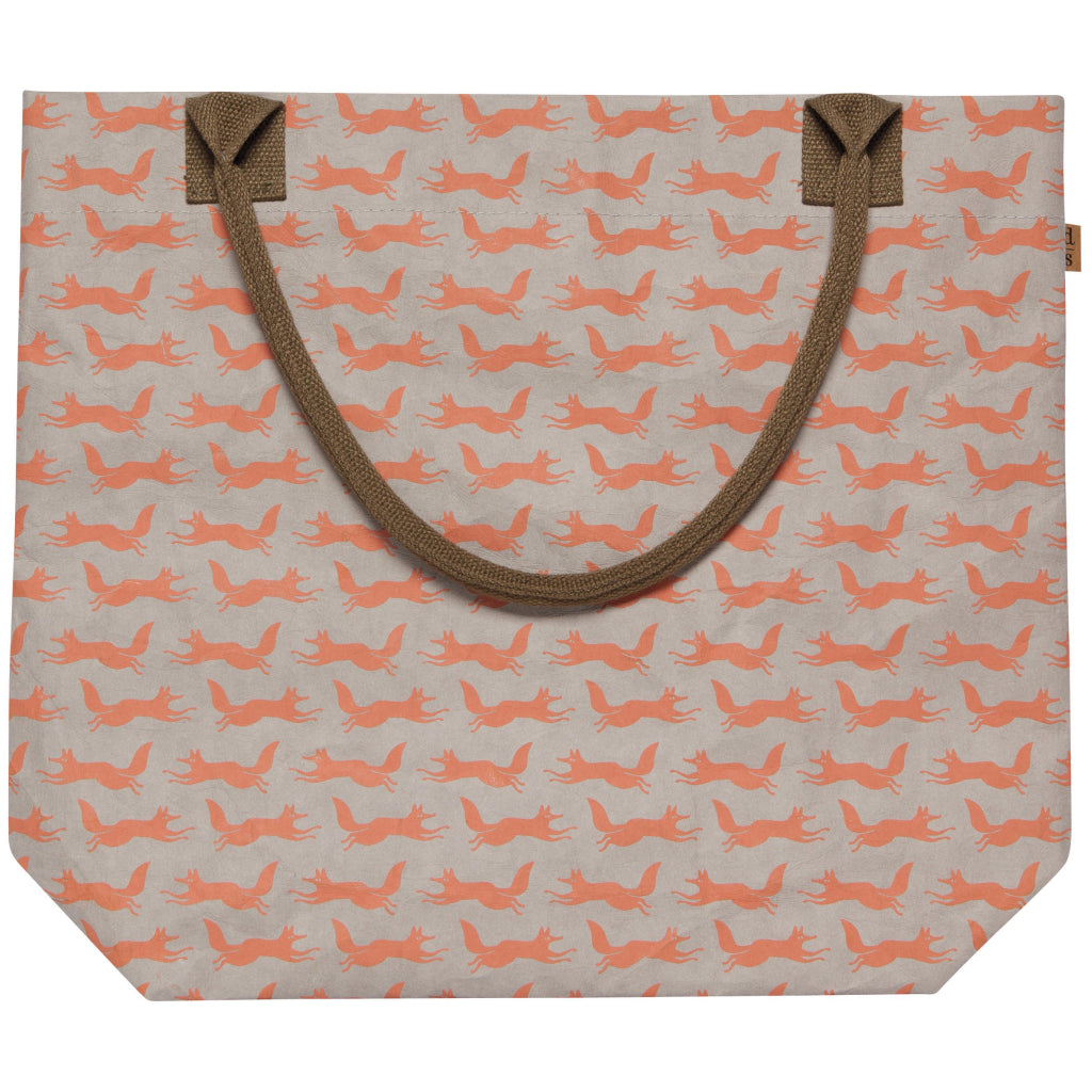 Hill & Dale Fox Paper Tote With Strap Down