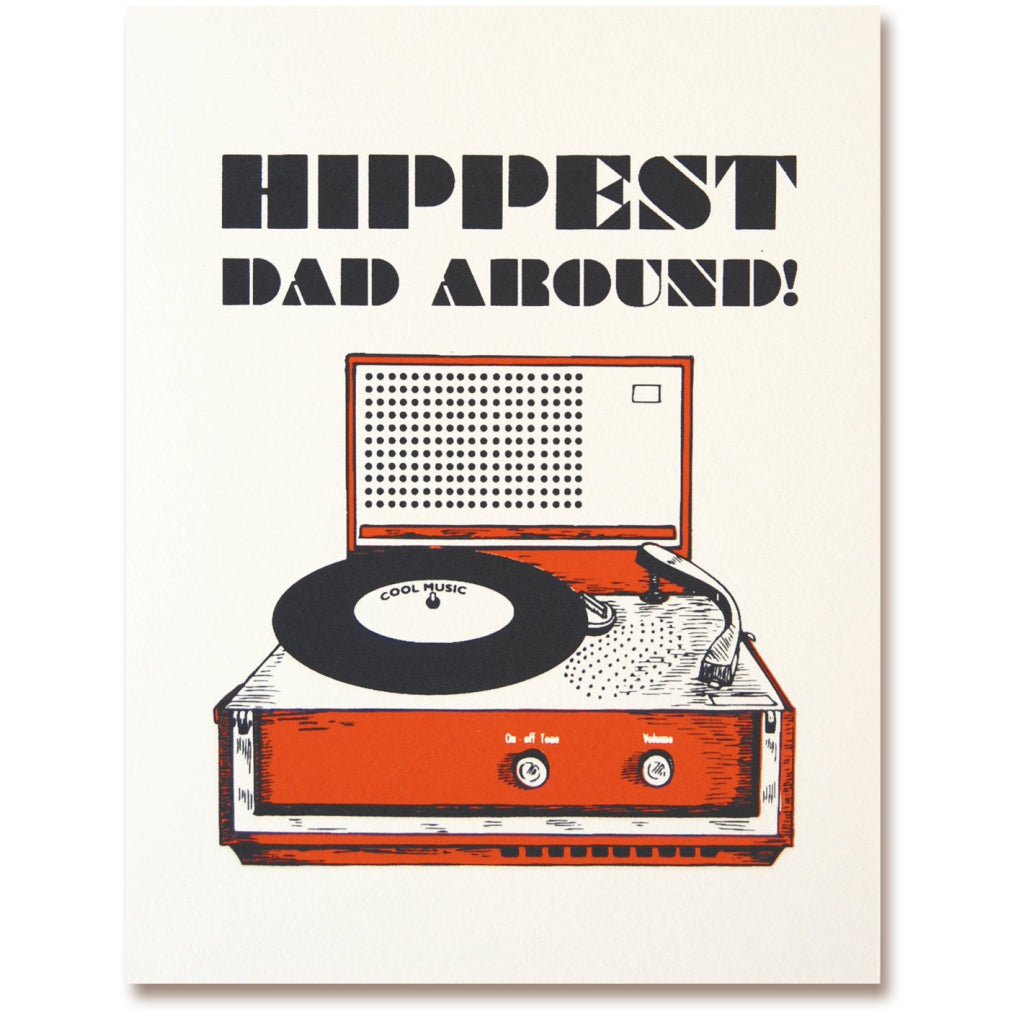 Hippest Dad Card