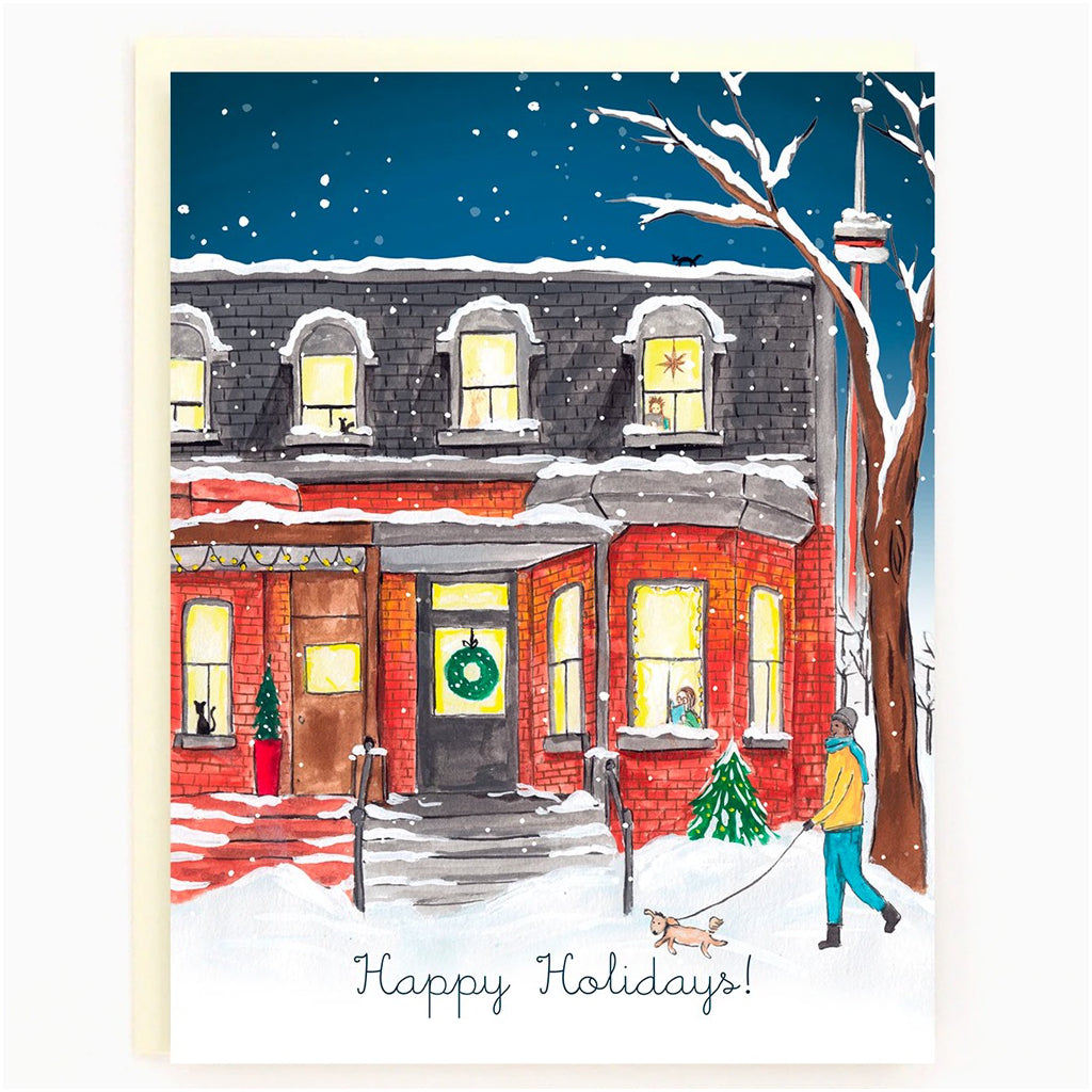 Historic Toronto Holiday Boxed Cards Draper street
