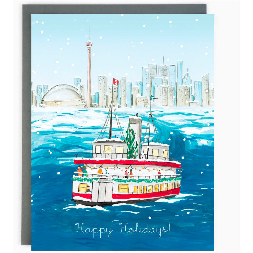 Historic Toronto Holiday Boxed Cards Ferry