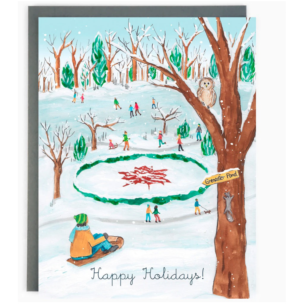 Historic Toronto Holiday Boxed Cards High park