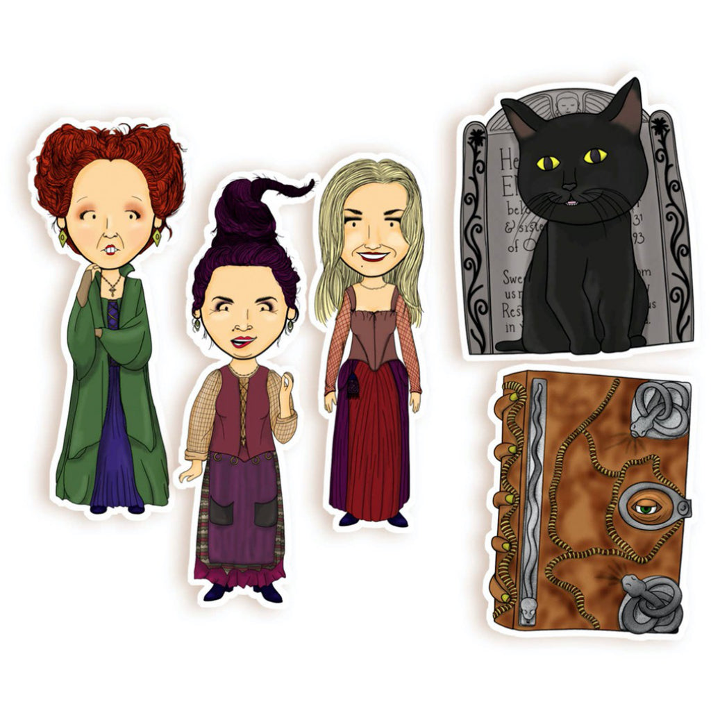 Hocus Pocus Sticker Pack of Five