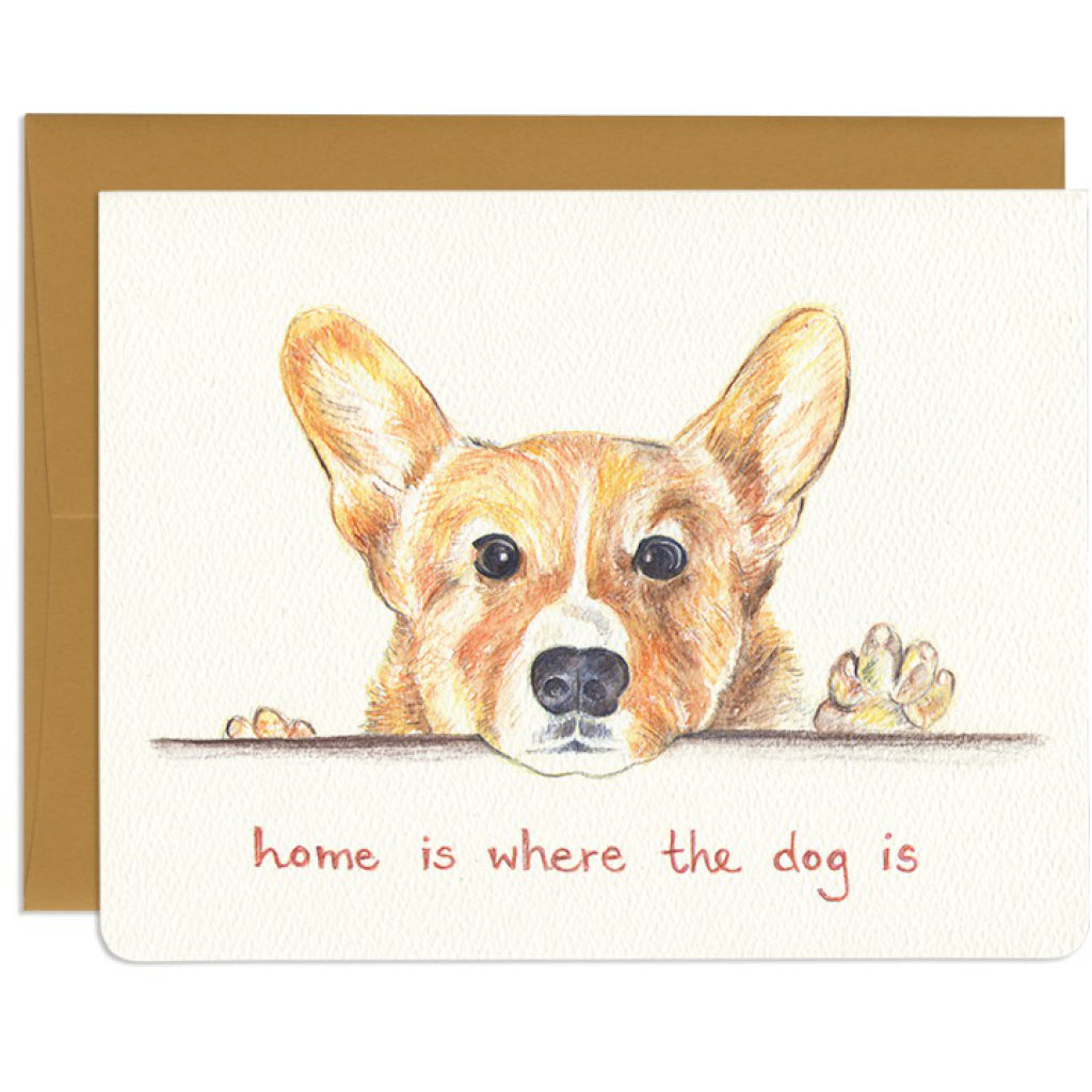 Home Is Where The Dog Is Card
