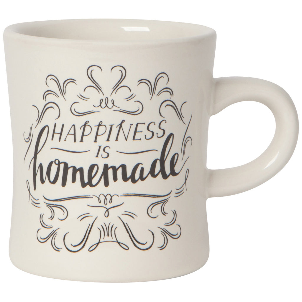 Homemade Happiness Diner Mug