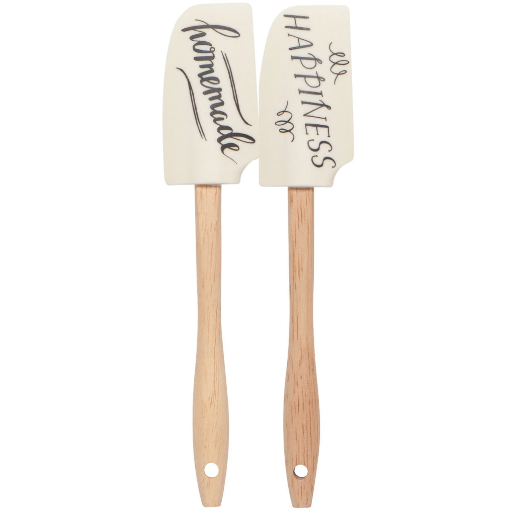 Homemade Happiness Mini Spatulas Set of 2