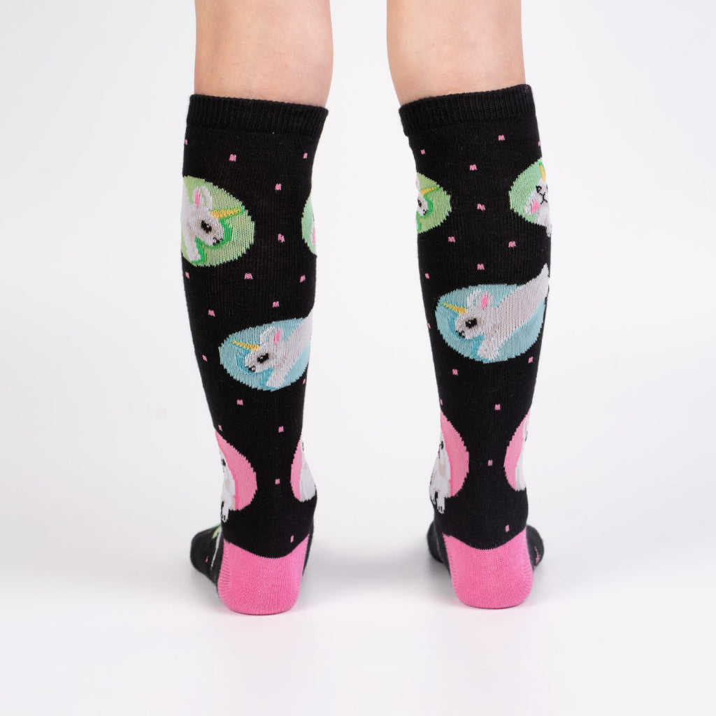 Hop To It Junior Knee Socks Back