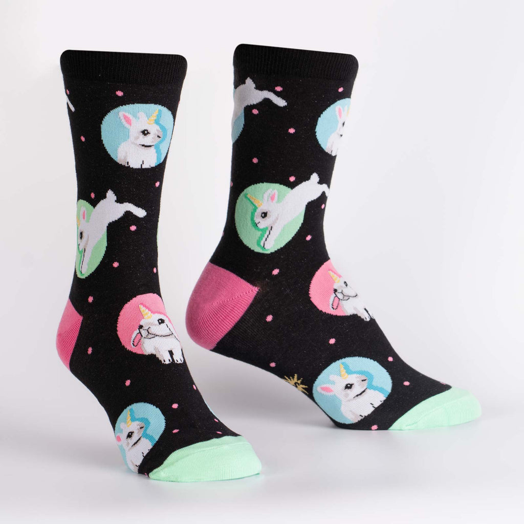 Hop To It Women's Crew Socks