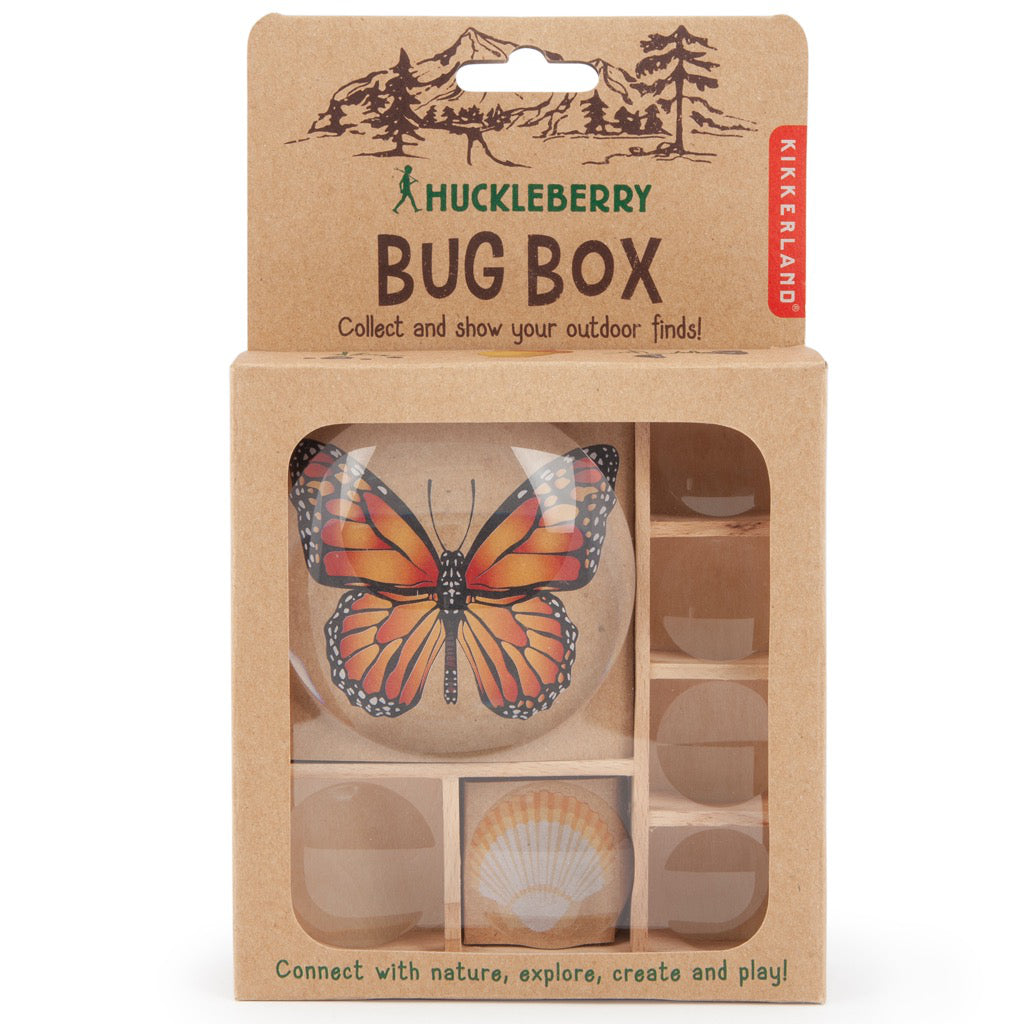 Packaging of Huckleberry Bug Box.