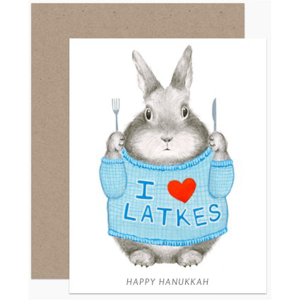 I Heart Latkes Card