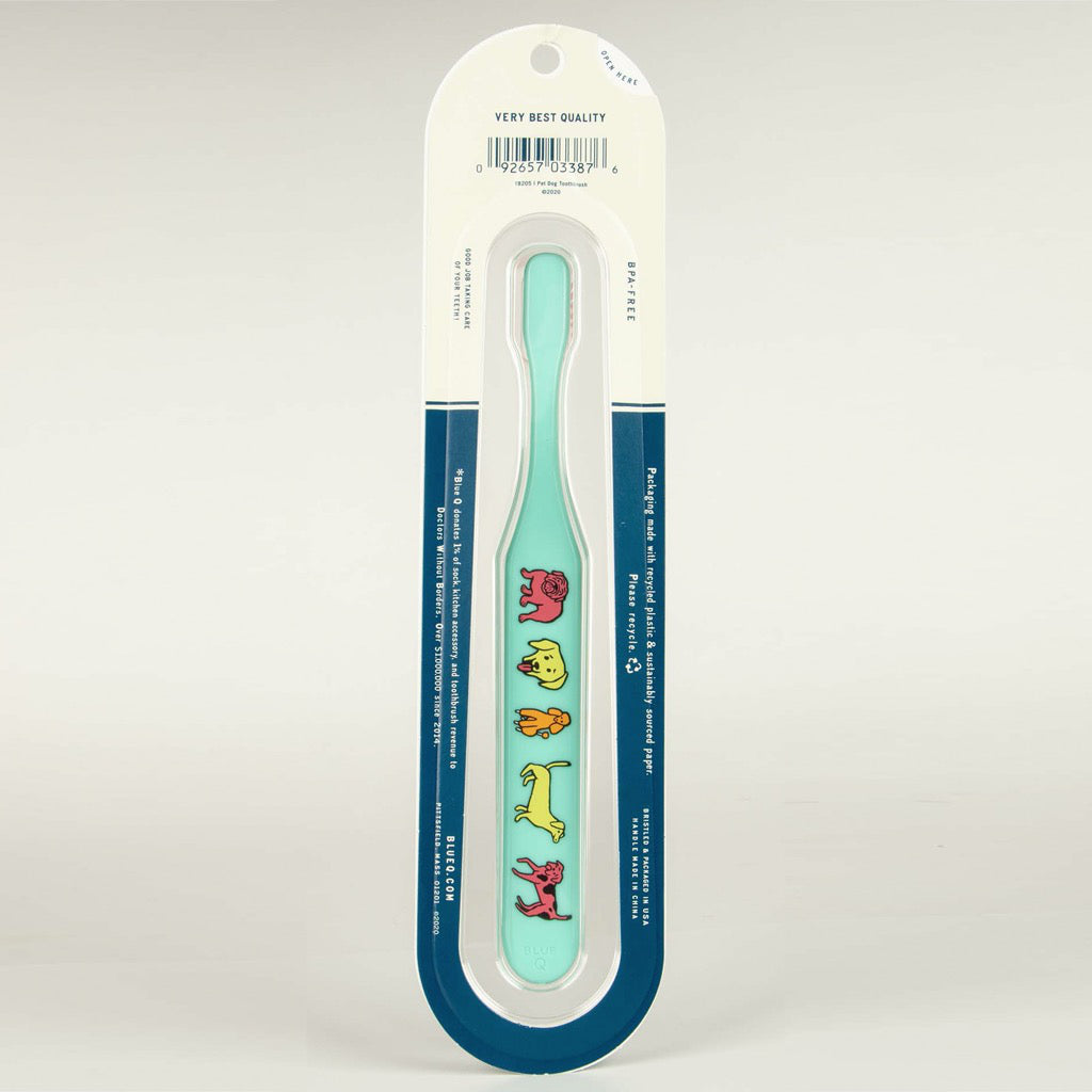 I Pet Dog Toothbrush Packaging