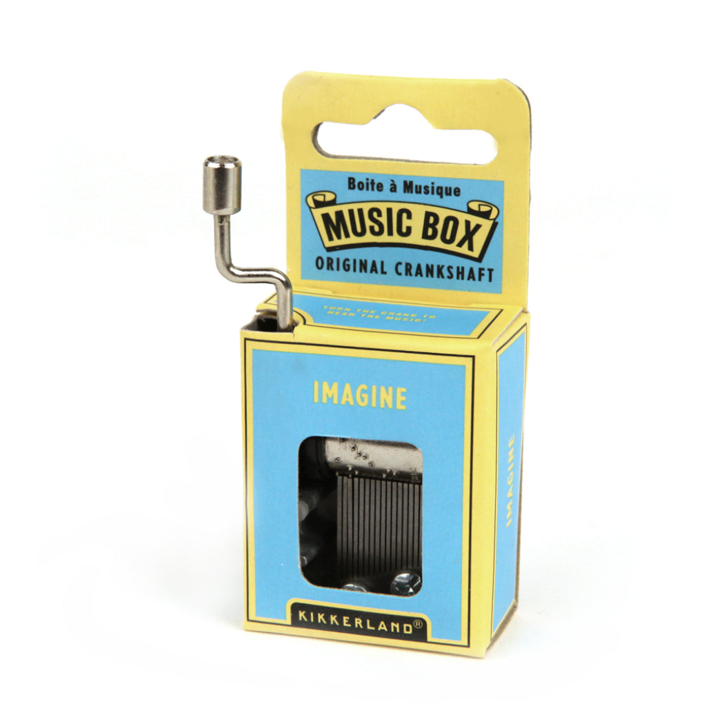 Package of Imagine Crank Music Box.