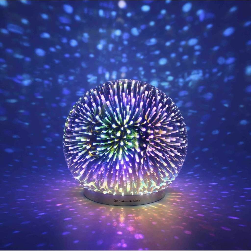 Infinity Mirror Dome LED Light