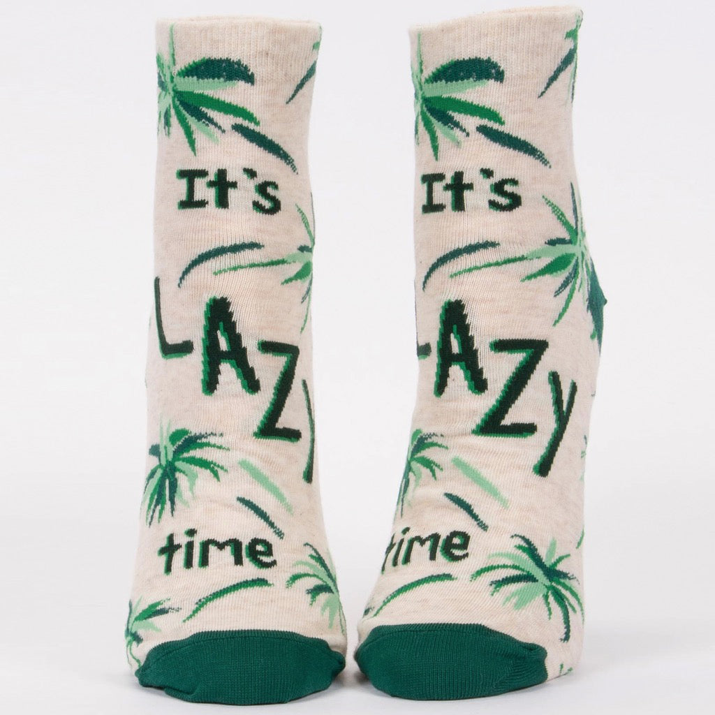 It's Lazy Time Ankle Socks