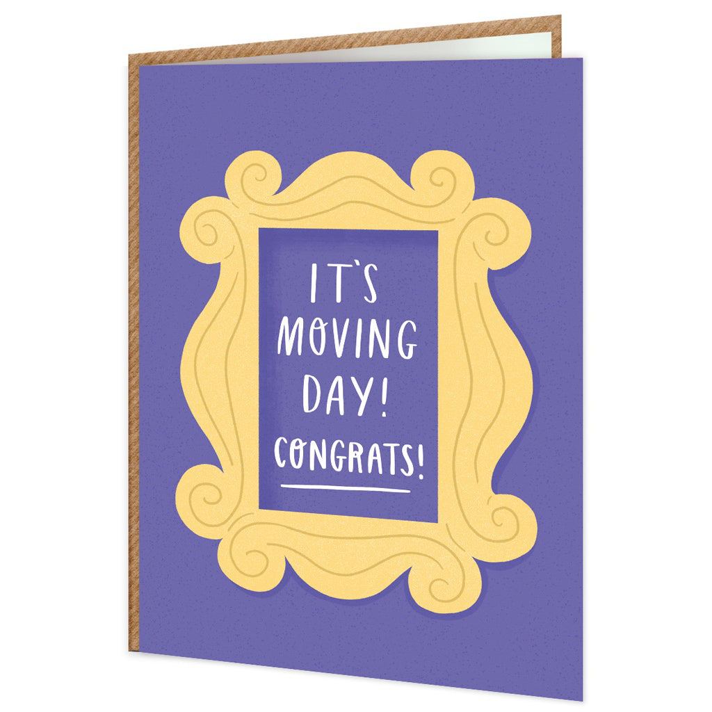 It's Moving Day Card