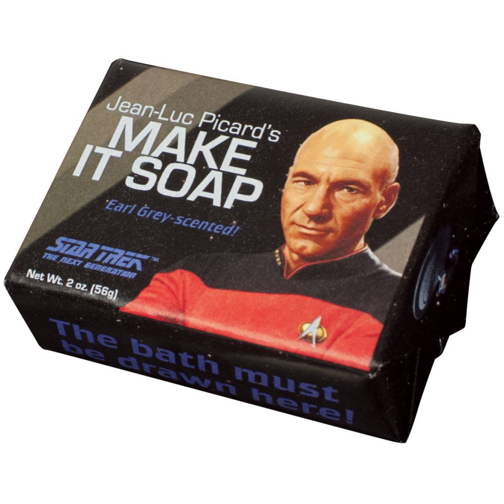 Jean-Luc Picard's Make it Soap
