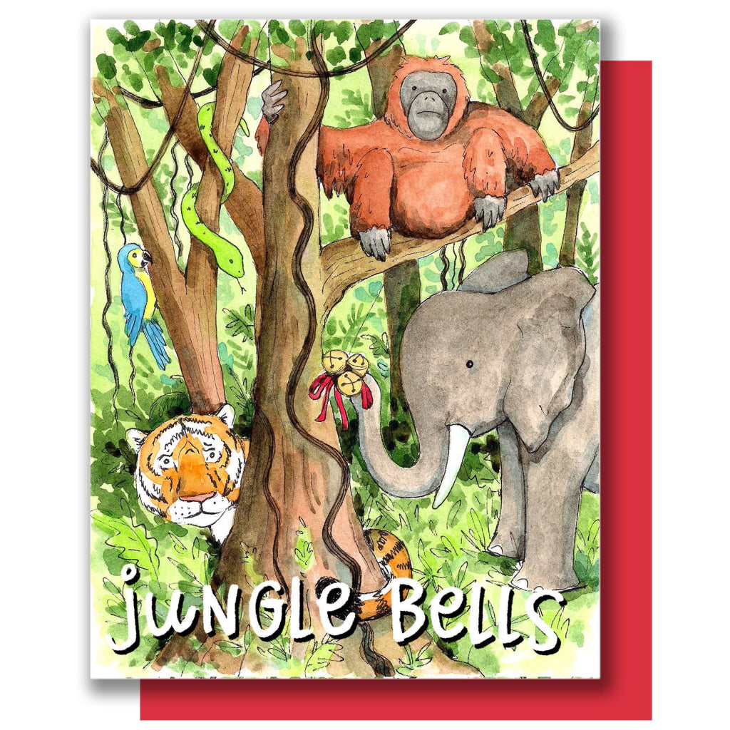 Jungle Bells Holiday Card