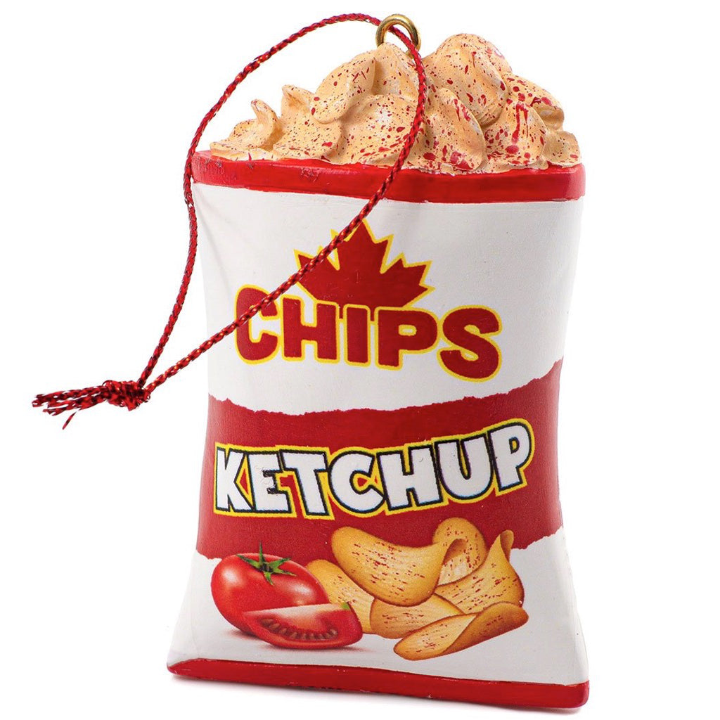 Ketchup Chips Ornament