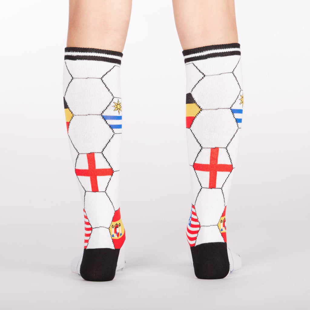 Leave the opposition behind with Kick It Socks