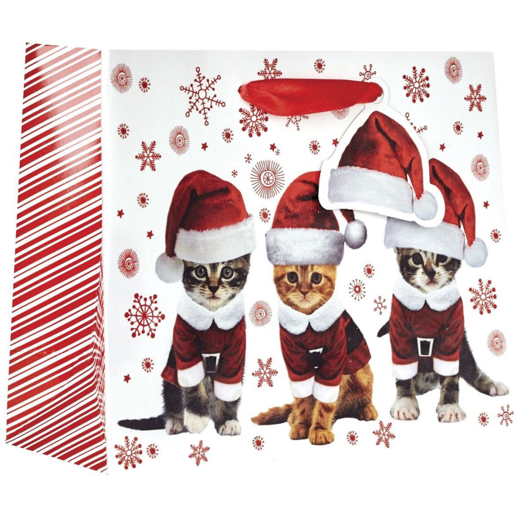 Kitty Christmas Small Tote