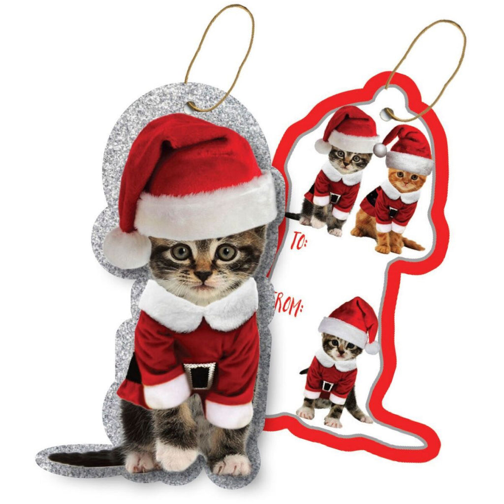 Kitty Christmas Tags With String by Jillson & Roberts – Outer Layer